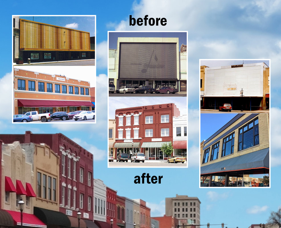 Before & After Facade Renovations