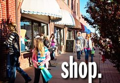 Shopping Downtown Enid